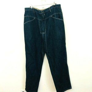 Marithe Francois Girbaud Relaxed Fit Jeans 42x32